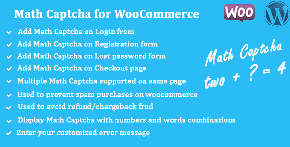 math-captcha-for-woocommerce-banner